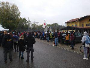 Centro di via Corelli a Milano: non vogliamo un lager nella nostra città