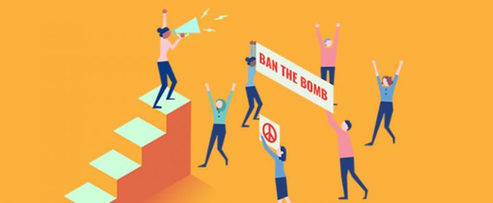 Die Schweiz braucht Unterstützung im Kampf gegen Atomwaffen