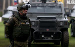 En repudio al asesinato de Camilo Catrillanca Marín por carabineros de Chile