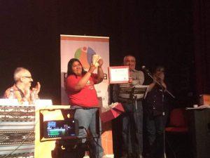 Reconocimiento a La Garganta Poderosa en Moreno: «Un ejemplo de lucha No Violenta»