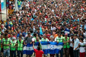 La carovana dei migranti in cammino verso l'utopia