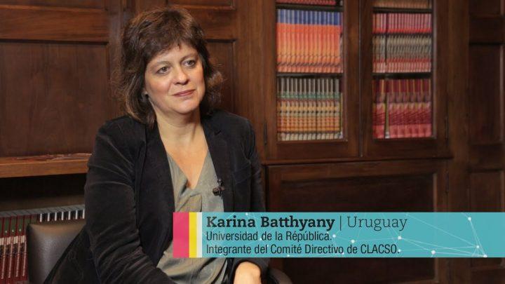 Entrevista a Karina Batthyány, nueva secretaria ejecutiva de CLACSO