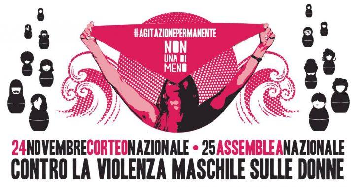 Manifestazione nazionale di Non Una Di Meno contro la violenza di genere e le politiche patriarcali e razziste del governo
