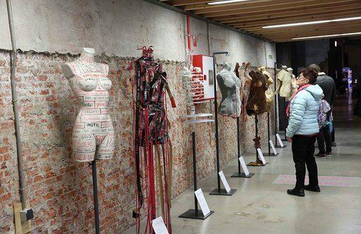 'Heridas', exposición de Mujeres Dos Rombos, en el II Foro de Violencias Urbanas