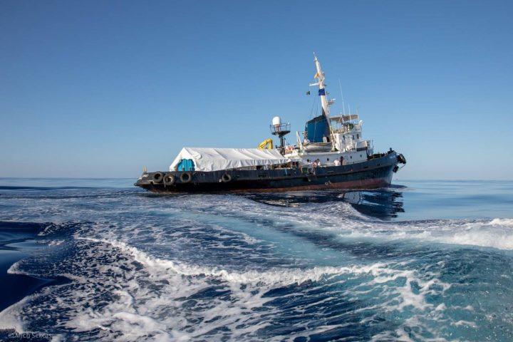 Maso Notarianni: «Todo el mundo puede subir a bordo de Mediterranea Saving Humans»