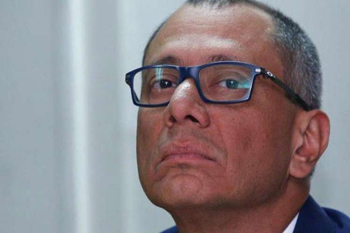 Jorge Glas, huelga de hambre y demandas por su integridad