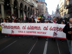 Torino-Lione:  la nostra resistenza difende il Pianeta