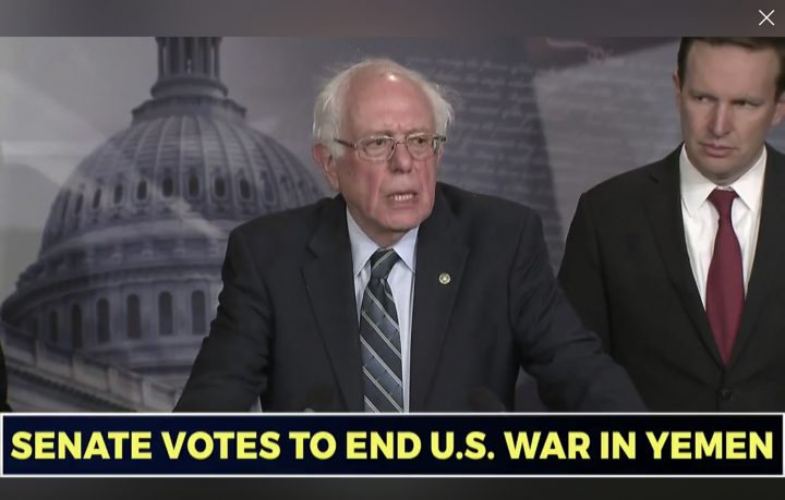 Historic Victory' as Senate Votes to End U.S. Involvement in 'Unauthorized War' in Yemen