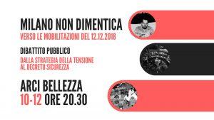 12 dicembre 1969. Milano non dimentica! Dibattito pubblico
