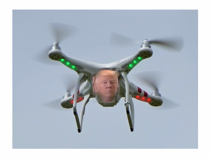 Drone shuts down UK airport and Trump shuts down US Government