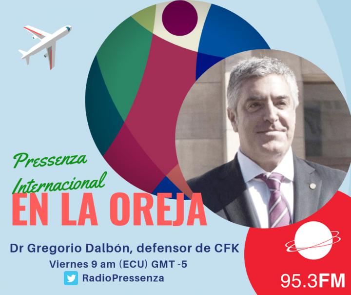 """Gregorio Dalbón """"La tiene sin cuidado a Cristina las causas judiciales"""""""
