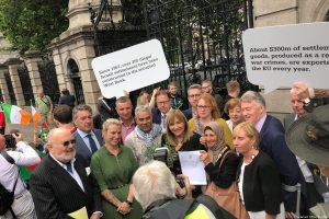 Irish senate passes bill banning goods from Israeli settlements