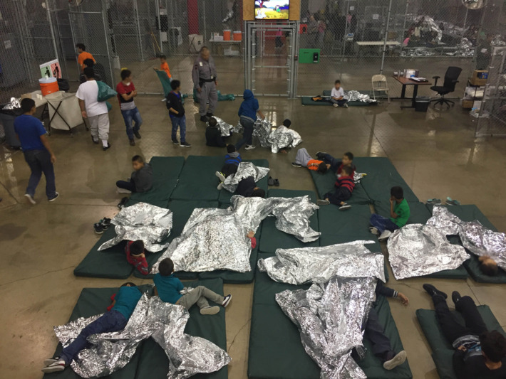 Nearly 15,000 children held in detention camps across the US