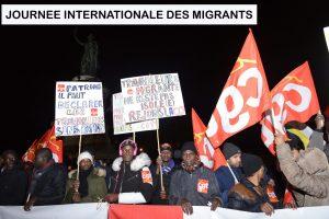 18/12 Journée internationale des migrants