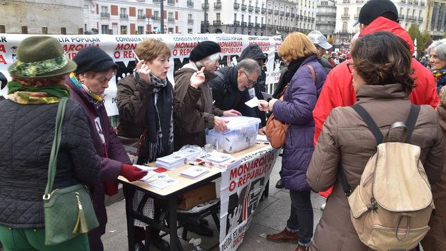 93% de votos a favor de la República en la 'Consulta Popular Monarquía o República', en Madrid