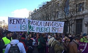 """""""Poner en marcha la Renta Básica Universal es la revolución"""""""