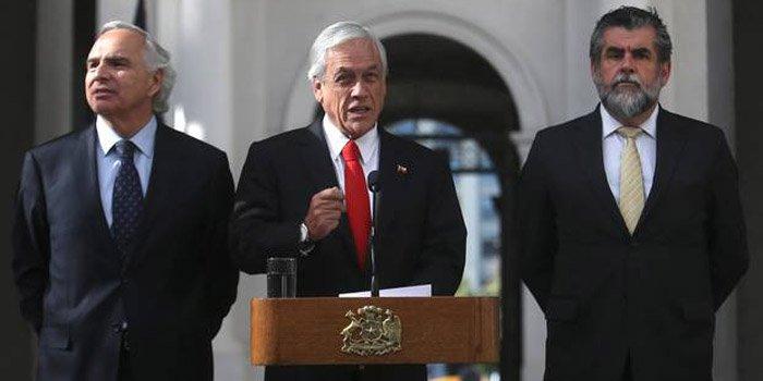 Chile: por caso Catrillanca, Piñera anunció salida de director de Carabineros y 10 generales más