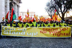 Roma, 15 dicembre, una piazza piena per i diritti di tutti