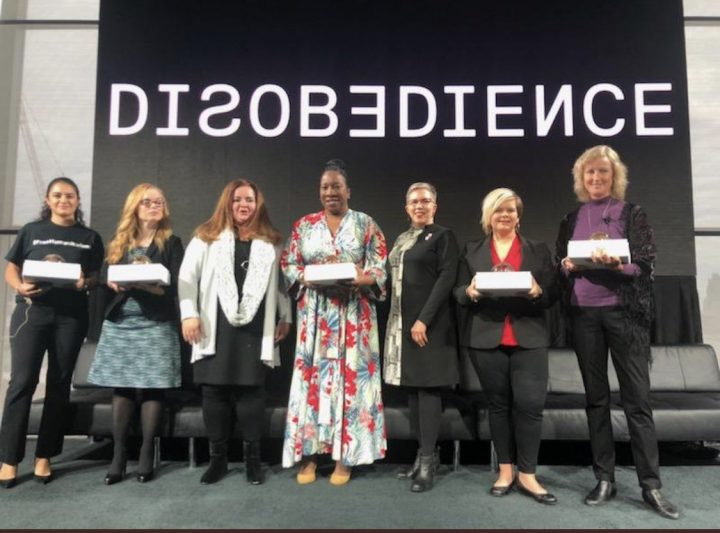 #MeToo movement honored at Disobedience Award celebrating the power of women