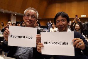 En cita solidaria en Japón exigen fin del bloqueo de EE.UU. a Cuba (+Fotos)