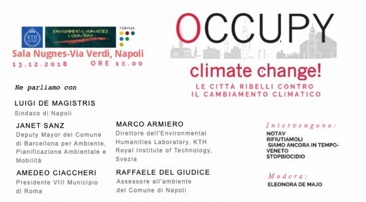 Occupy Climate Change: a Napoli esperienze europee a confronto