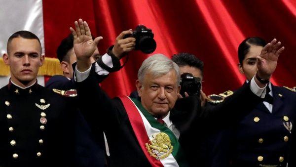 AMLO ya es presidente de México; promete acabar con la corrupción e impunidad