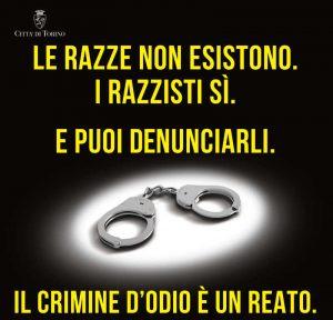 A Torino il razzismo non è un'opinione, è un crimine