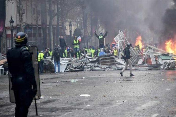 Detienen a más de 100 personas durante protestas en Francia