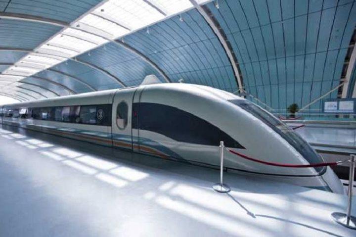 China somete a prueba un tren maglev más veloz