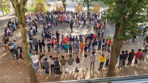 4 425 km pour la Nonviolence et la Paix, parcourus par 800 élèves de Seine St Denis… à quand le tour du monde !?