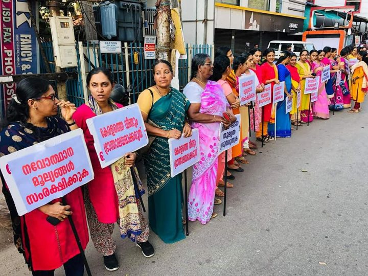 620 km long Women's Wall of Kerala challenges Brahmanical patriarchy
