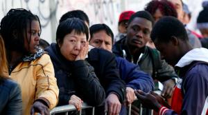 Organizaciones migrantes marcharon por el centro de Santiago en contra de la nueva ley