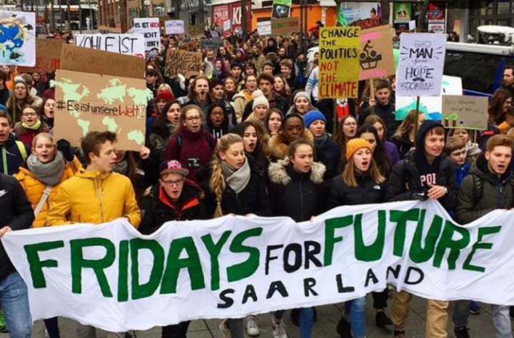 Youth climate strike grows: images from Germany and Belgium