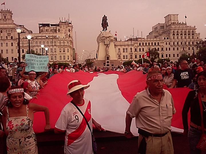 Perú: ¡Abajo la corrupción!