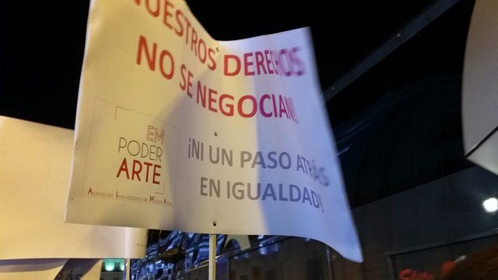 España dice: ¡Ni un paso atrás! frente al machismo y la eliminación de derechos