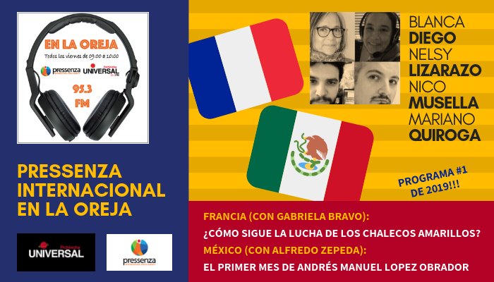 Pressenza Internacional En La Oreja 04/01/2019