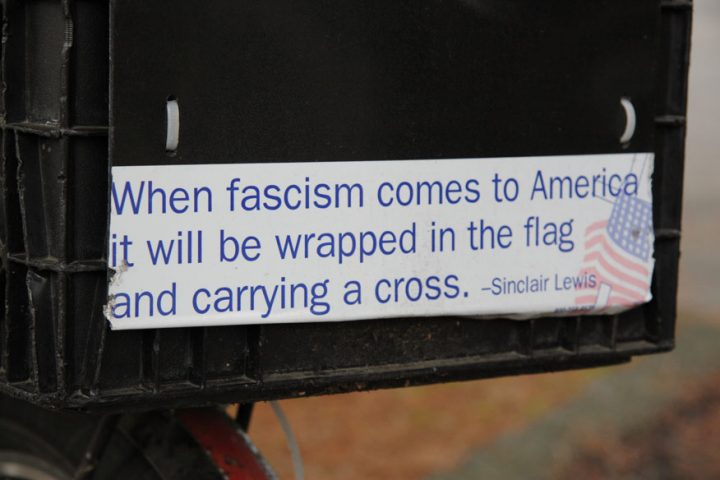 It's Fascism and Dictatorship, Here in USA