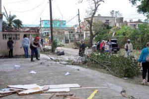 """Cuba avalia danos do tornado: 'São severos"""", diz presidente"""