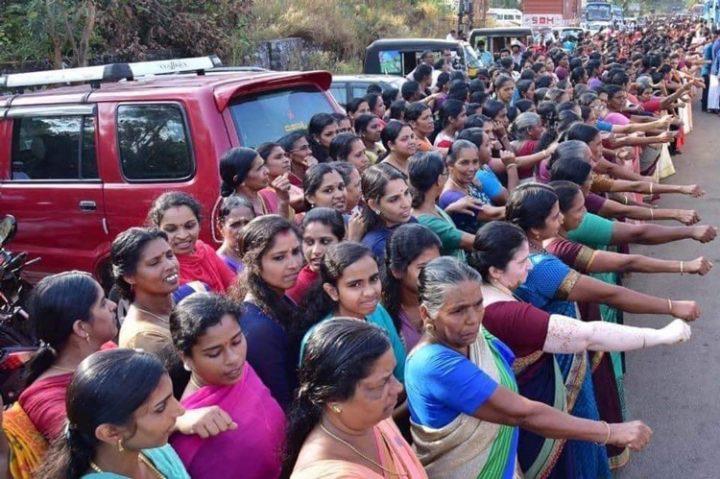 [Reportage photo] Inde : La plus grande chaîne de droits humains pour les femmes