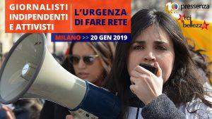 Giornalisti indipendenti e attivisti, l'urgenza di fare rete. Incontro a Milano