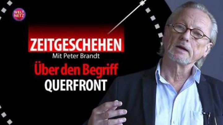 Peter Brandt: Über den historischen Ursprung und den heutigen Gebrauch des Begriffes Querfront