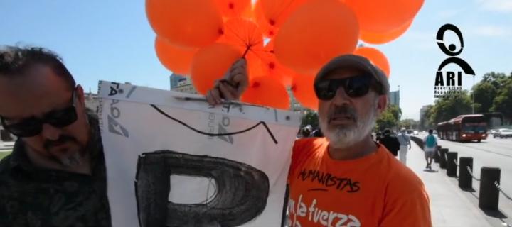 """Chile, Luis Mura (PH), creador de los globos contra Chadwick: """"Nos indignó cómo el gobierno encubrió el asesinato de Catrillanca"""""""