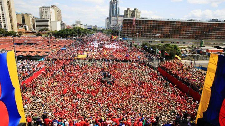 In Venezuela, a difesa della autodeterminazione, contro le ingerenze golpiste