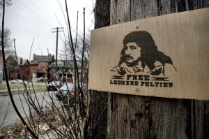 Freedom for Leonard Peltier after 43 years of unjust imprisonment