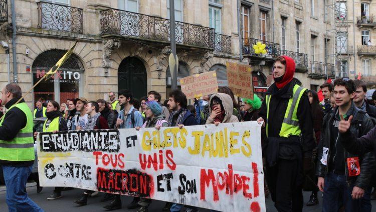 [Gilets Jaunes – Acte 13 ] Reportage photo à Bordeaux17