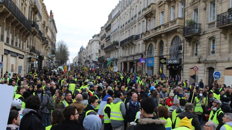 [Gilets Jaunes – Acte 13 ] Reportage photo à Bordeaux21
