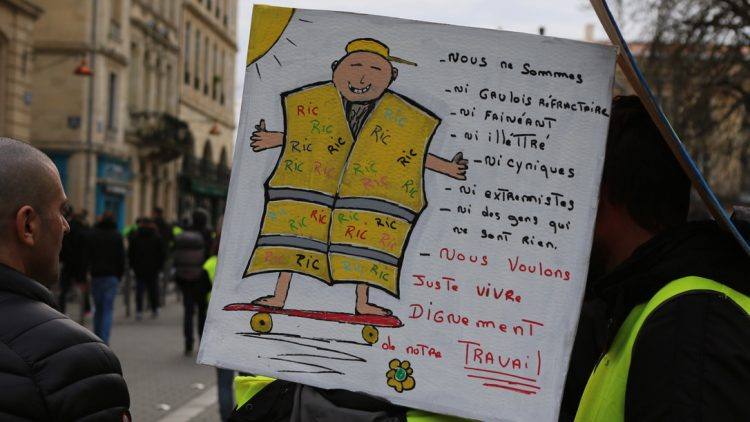 [Gilets Jaunes – Acte 13 ] Reportage photo à Bordeaux26