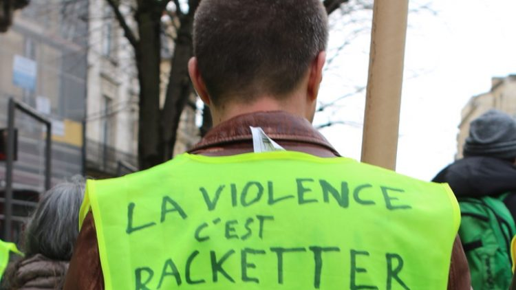 [Gilets Jaunes – Acte 13 ] Reportage photo à Bordeaux32