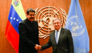 "UN rejects self-proclaimed ""interim president"" Juan Guaidó"