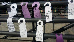 Die feministische Bewegung koordiniert sich für den 8. März auf internationalem Niveau
